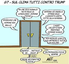 Al G7 Trump in minoranza sul clima