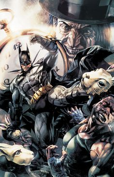 Awesome Batman artwork by Lee Bermejo