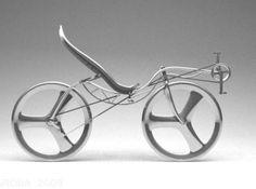 recumbent bike design 3d printed r1