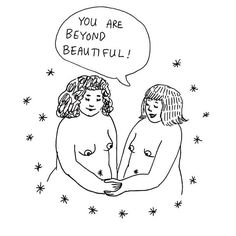 Going to sleep dreaming of how divine it is to be a female. We are so magic, especially when we come together ✨ art by a new found magic babe: @frances_cannon ✨