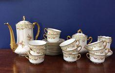 Antique LIMOGES 27 piece Tea/coffee set