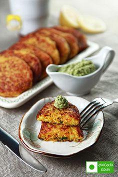 зразы из картофеля с начинкой из сыра и моркови