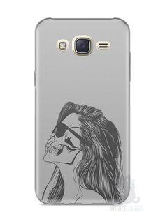 Capa Capinha Samsung J7 Mulher Caveira - SmartCases - Acessórios para celulares e tablets :)