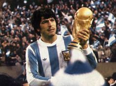 Passarella World Cup 1978 One of the guys that I can't stand...feel like beating him up.