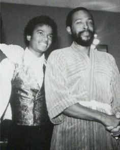 **Legends**                                   Michael Jackson & Marvin Gaye.