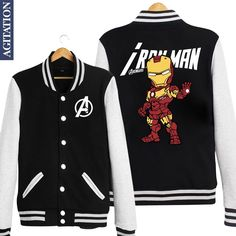 Ironman Baseball Jacket - $ 47.95 ONLY!  Get yours here : https://www.thepopcentral.com/ironman-baseball-jacket/  Tag a friend who needs this!  Free worldwide shipping!  45 Days money back guarantee  Guaranteed Safe and secure check out    Exclusively available at The Pop Central    www.thepopcentral.com    #thepopcentral #thepopcentralstore #popculture #trendingmovies #trendingshows #moviemerchandise #tvshowmerchandise