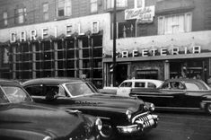 Garfield's Cafeteria  At Flatbush and Church Ave.  had breakfast here after our first date.