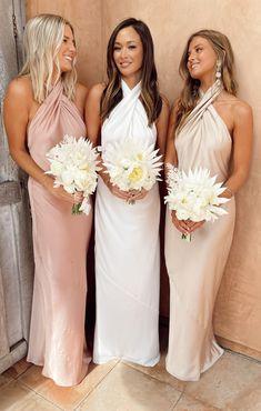 Neutral Bridesmaid Dresses, Champagne Bridesmaid Dresses, Affordable Bridesmaid Dresses, Beautiful Bridesmaid Dresses, Mumu Bridesmaid Dresses, Designer Bridesmaid Dresses, How Many Bridesmaids, Fall Wedding Bridesmaids, Mumu Wedding