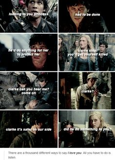 #The100 #BellamyBlake #Bellarke