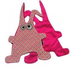 Tutteldoekje konijn roze/merk Notsobig.