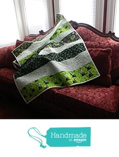 Quilted Irish Throw, Shamrocks galore, warm and cozy bright too. from Dimas Grams Quilts http://www.amazon.com/dp/B01CETI0BK/ref=hnd_sw_r_pi_dp_KIC1wb1JKMMAM #handmadeatamazon