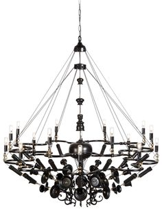 Exploded chandeliers by ward van gemert chandeliers vans and modern nightshop a design studio based in rotterdam created this stunning upcycle design lamp called exploded chandelier made out of second hand brass chandeliers aloadofball Choice Image