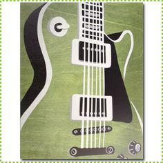 Green Les Paul