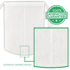 Nut Milk Bag - Reusable Almond Milk Nut Bag - Commercial Food Grade Nylon - Fine Mesh - All Purpose Strainer - Green Juice Filter - All Around Kitchen Accessory By Victoos Victoos http://www.amazon.com/dp/B00OZQT54C/ref=cm_sw_r_pi_dp_LeVxvb0H5B3AA