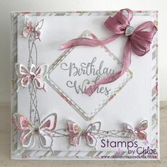 Dies by Chloe - CHCC-026 Layered Butterfly - £14.99 - Dies By Chloe Chcc026 Layered Butterfly - Chloes Creative Cards