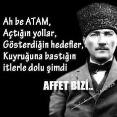 Atatürk Say More, Great Leaders, Abraham Lincoln, Che Guevara, Sayings, History, Instagram Posts, Pictures, Twitter