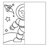 Finish the drawing symmetry worksheets - Symmetry Worksheets, Symmetry Activities, Space Activities, Drawing Activities, Preschool Worksheets, Drawing Lessons For Kids, Art Drawings For Kids, Outer Space Wallpaper, Outer Space Theme