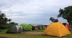 camping at Pantai Madasari