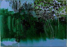 Hurvin Anderson, Maracas Series—Pluck