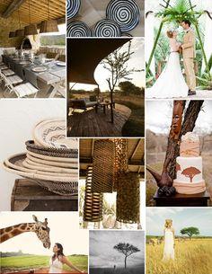 South African Wedding - My wedding ideas Wedding Themes, Wedding Colors, Wedding Photos, Wedding Decorations, Wedding Ideas, African Theme, African Safari, Safari Wedding, Safari Party