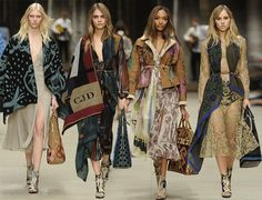 Burberry Prorsum Fall/Winter 2014-2015 Collection – London Fashion Week  #LFW #LondonFashionWeek #fashionweek