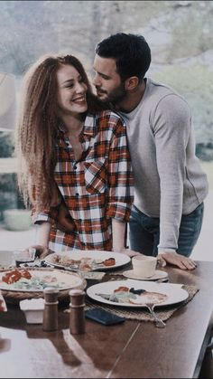 Movie Couples, Couples In Love, Movies And Series, Movies And Tv Shows, Elcin Sangu, Cute Couple Pictures, Film Music Books, Big Love, Turkish Actors