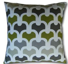 Designer Cushion Covers Pembury Eucalyptus Green x Throw Pillows Green Cushions, Velvet Cushions, Cushion Cover Designs, Cushion Covers, Duvet Covers, Cottage Crafts, Luxury Bedding Collections, Retro Home