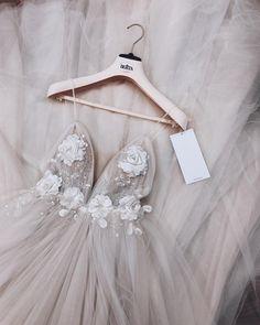 Glamorous Deep V Neckline Floral Wedding Dress; Bold W… Glamorous Deep V Neckline Floral Wedding Dress; V Neck Wedding Dress V Neck Wedding Dress, Wedding Dress Trends, Dream Wedding Dresses, Wedding Gowns, Wedding Girl, Wedding Ideas, Grad Dresses, Dance Dresses, Homecoming Dresses