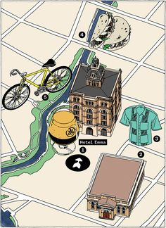 The energetic Pearl District neighborhood has some of the city's best shopping, eating, and biking.