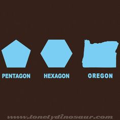 Oregon! More discussions of mathematical humor at http://www.naturalmath.com/tag/humor/
