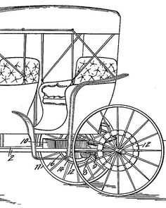 Horseless carriage patent instant download classic car