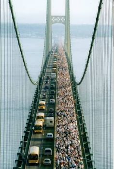 Mighty Mac Bridge Walk (Labor Day Weekend) - can't do it this year...but would love to be brave enough to do this in future years!