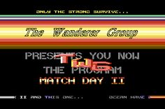 [CSDb] - TWG Intro by The Wanderer Group (1987)