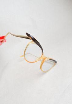 1950s 60s Cat eye spectacles / 50s eyeglasses