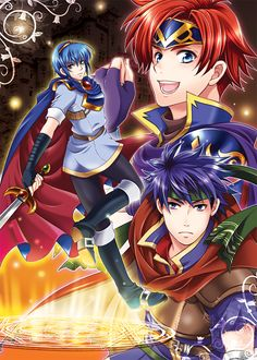 Tags: Ike, Marth, Fire Emblem: Path of Radiance, Roy (Fire Emblem), Waradoko, Fire Emblem: Fuuin no Tsurugi, Fire Emblem: Monshou no Nazo