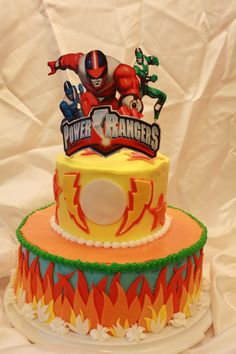 Power Rangers - Power Rangers Cake favorite so far