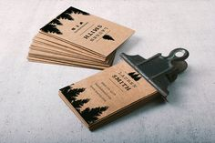 Hey, I found this really awesome Etsy listing at https://www.etsy.com/listing/250091924/rustic-brown-paper-business-card