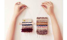 Как соткать шедевр «на коленке»: необычные ткацкие станки - Ярмарка Мастеров - ручная работа, handmade