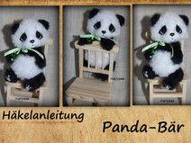 "PDF-Häkelanleitung ""Pandabär"""