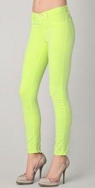 neon pants or shorts