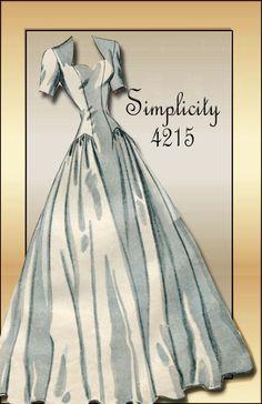 1960s Wedding Dress Bridal Gown Pattern Vogue Couturier Design ...