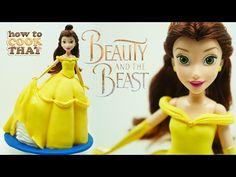 Beauty and the Beast BELLE CAKE Ann Reardon 2017 - YouTube