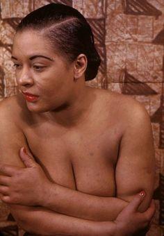 Billie Holiday photographed by Carl Van Vechten