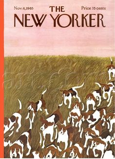 The New Yorker Cover - November 6, 1965  By Ilonka Karasz