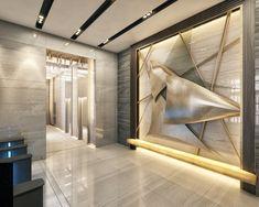 #ankara #interiordesign #luxury #lobby #businesscenter #içmimar #karşılama #marble #art #artwork