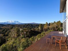 Central North Island/Ruapehu/National Park holiday home rental accommodation - Triple Peaks Eco Lodge - National Park Holiday House