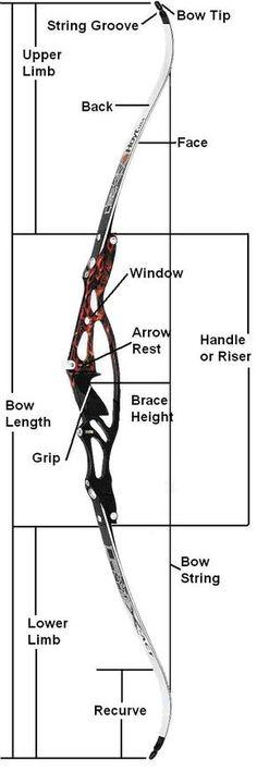 Recurve Bow. Find local archery lessons at [EducatorHub.com]
