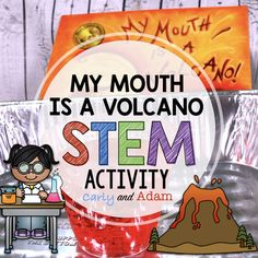 Integrate STEM in your classroom with this Volcano STEM Activity! Students learn how to avoid interrupting with experiments inspired by My Mouth is a Volcano by Julia Cook! This is a fantastic back to school read aloud activity to set up your Teaching Second Grade, Third Grade Science, First Grade Reading, Volcano Activities, Steam Activities, Kindergarten Stem, Preschool, Middle School Technology, Volcano Science Experiment
