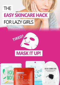 THE EASY SKINCARE HACK FOR ALL LAZY GIRLS