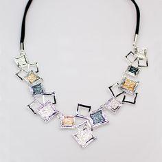 Statement necklace.Glamorous Necklace.Two tone by BareketDesign